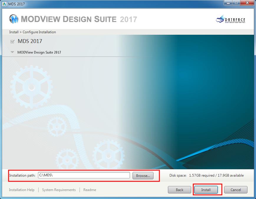 MDS_v2017_Installing 04