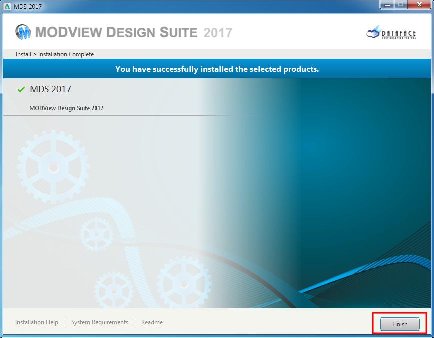 MDS_v2017_Installing 06